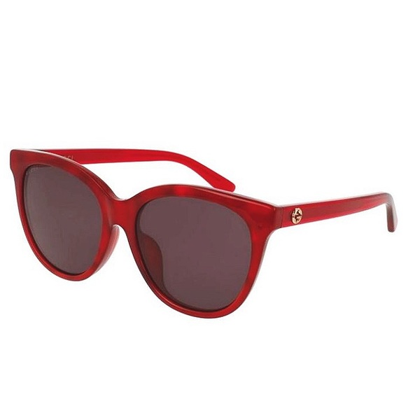 SALE 💥 GUCCI Red Sunglasses with GG Emblem NWT